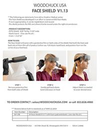 WOODCHUCK USA Face Shiels Model V1.13 - Thumbnail
