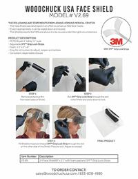 WOODCHUCK USA Face Shiels Model V12.69 - Thumbnail