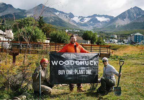 Woodchuck in Ushuaia Argentina.