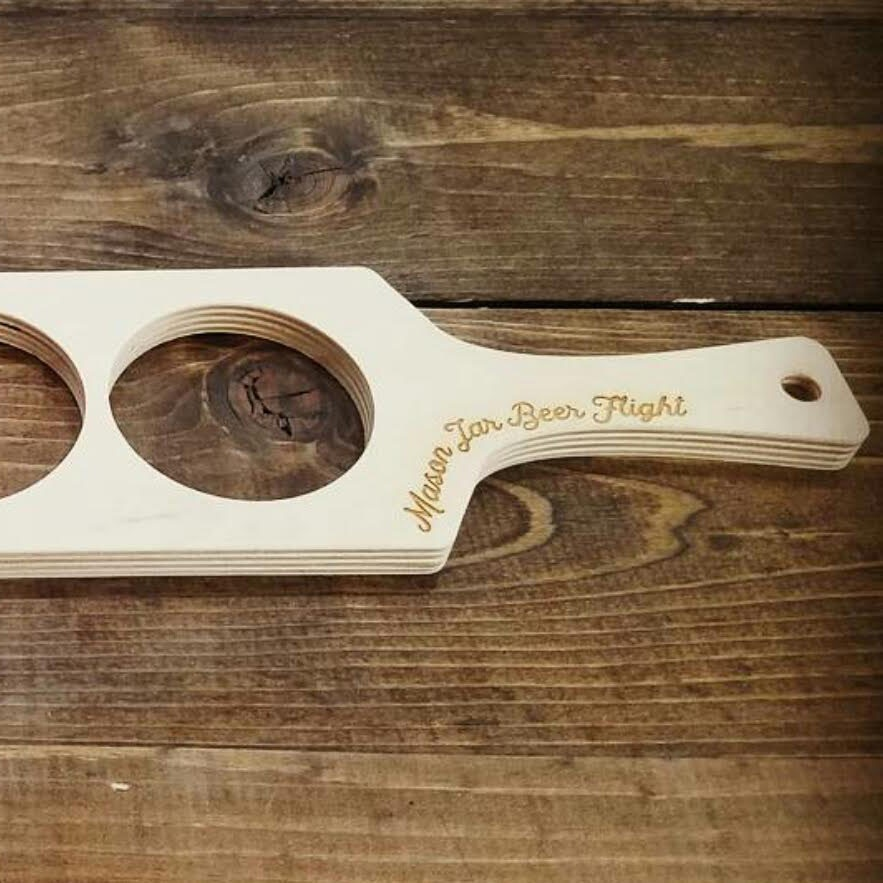 Beer Flight Paddles Birch-1